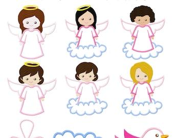 Sweet Angels Mädchen für den 13x18cm Rahmen
