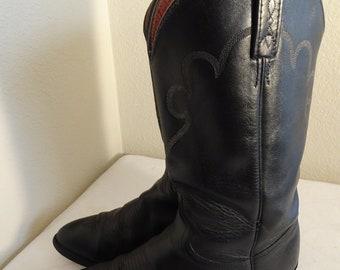 Men's Cowboy & Western Boots Vintage | Etsy UK