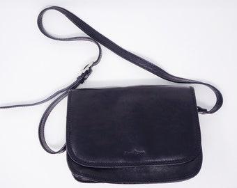 Borsa in pelle nera italiana bella Made In Italy By   Gianni Conti -  stupendo!!! 8bceda47237