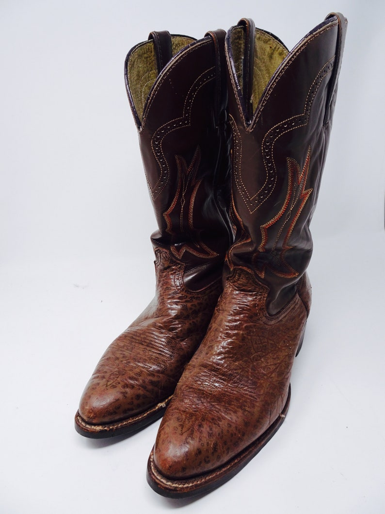 Lovely Mens Vintage 1960\u0027s Cowboy Boots Made In USA By \u0027El Paso\u0027 , USA 10M,  UK 9