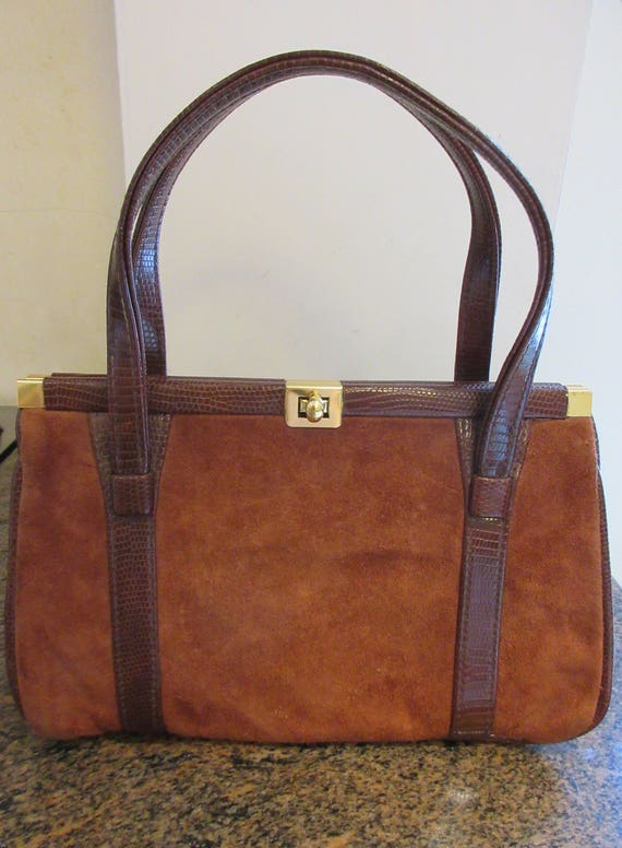 Vintage 1960's 'Weymouth American' Handbag MADE IN