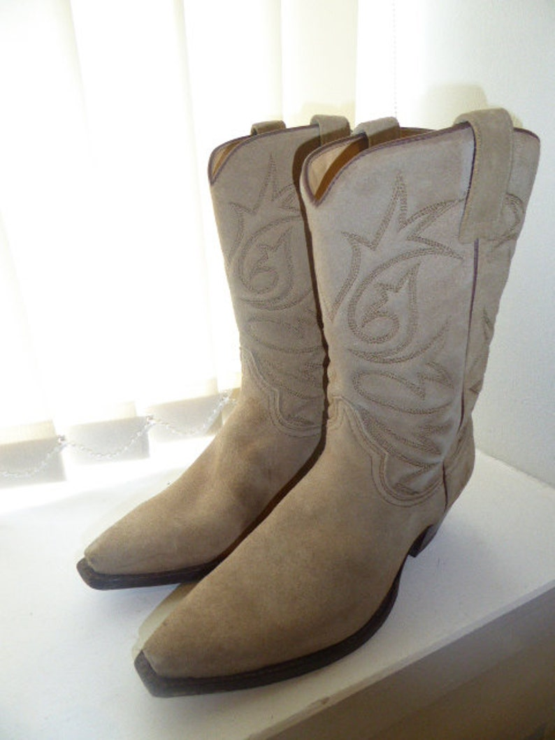 413becf6e67 Vintage 'R. Soles' Cowboy Boots By Judy Rothchild - UK Size 5 (EU 38)