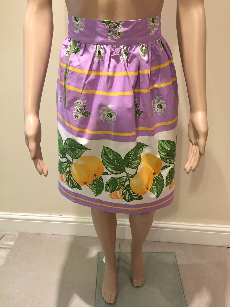 Michael Pinny BEAUTIFUL Colourful Floral Vintage 1950/'s St Lovely!! Made In Great Britian