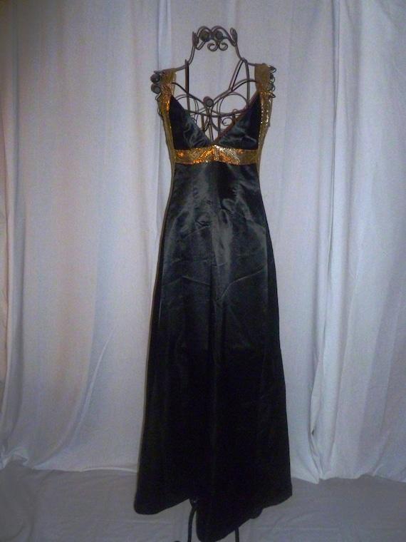 Vintage Vera Wang Black Dress