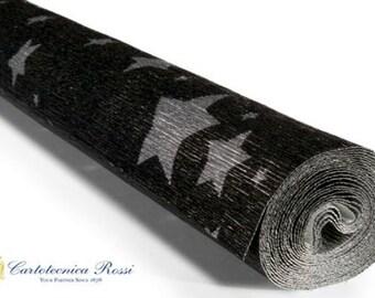 1 Roll Italian Cartotecnica Rossi 180g 50cm x 2.5m Printed Crepe Paper