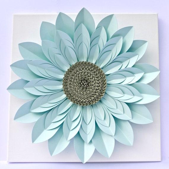 """40cm (16"""") 3D Paper Flower Wall Décor, Table Centrepiece"""
