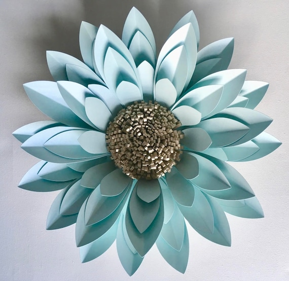 3D Paper Flower Wall Décor, backdrop or table centrepiece flower