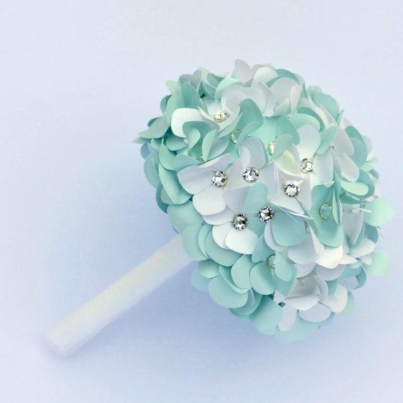 Swarovski Crystal Paper Hydrangea Posy