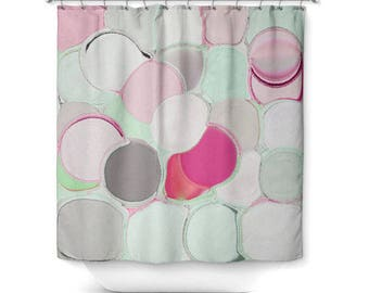 Brand-new Mint shower curtain | Etsy QV69