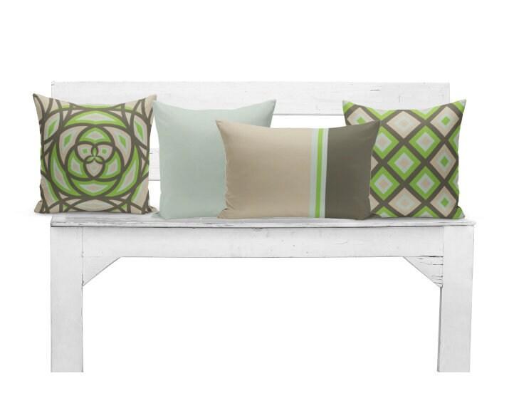 Home Decorators Outdoor Cushions: Outdoor Pillows Brown Green Outdoor Pillows Outdoor Home