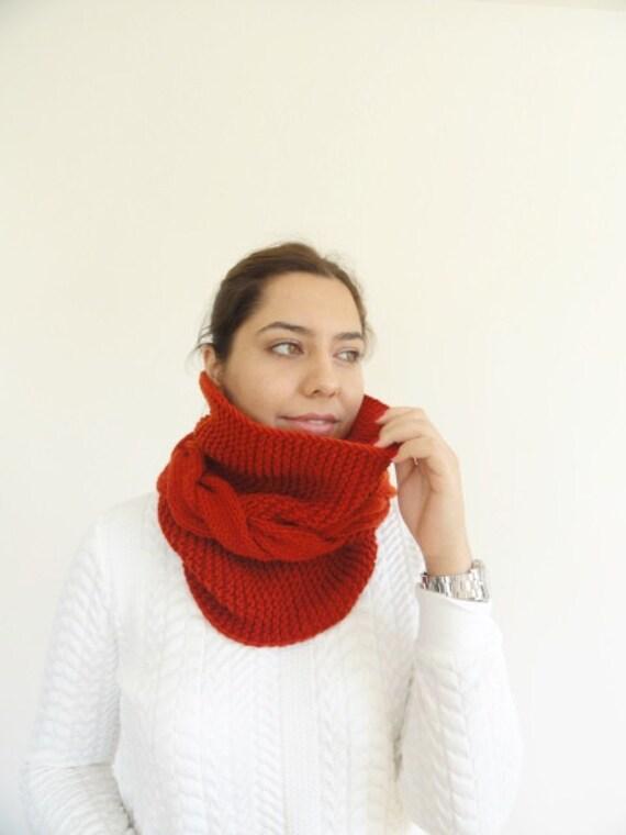 Grobstrick Kutte Schal für Frauen Männer Kabel Kutte wolle   Etsy