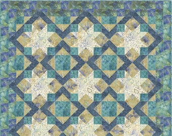 "Starshine Quilt Kit 55"" x 70"""