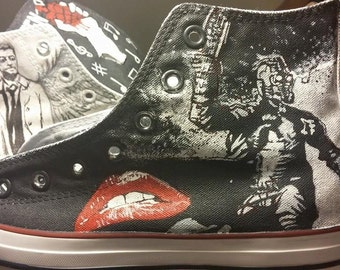 2f3c1dff3474 Custom Painted Converse Shoes Featuring Star Lord