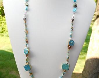 Seascape Multi Strand Necklace