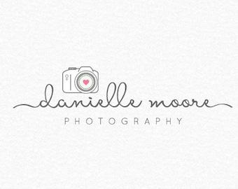 Premade Photography Logo, Camera Logo, Photographer Logo, Wedding Photography, Photography Watermark, Logo Design, Baby Photography