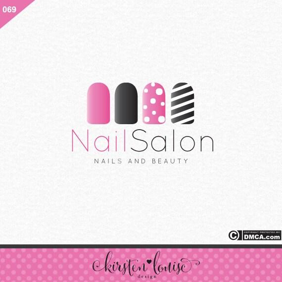 Premade Nail Salon Logo Nail Art Logo Nail Technician Logo Etsy