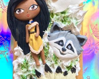 Disney's Pocahontas Handmade Decoden Phone Case