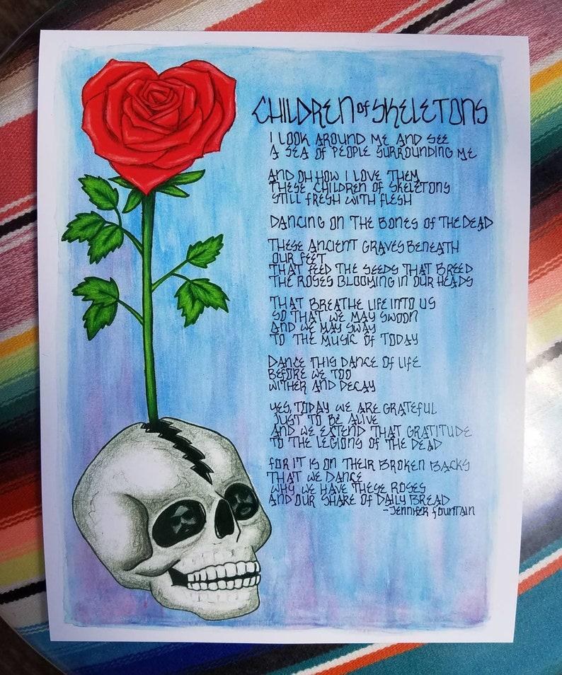 Children Of Skeletons Print