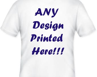 Custom Vinyl T-Shirt