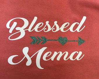 blessed Mema T-shirt