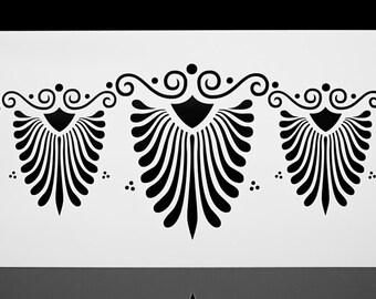 Butterfly Mandala Wing  Wall / Art / Craft / Painting / | Etsy