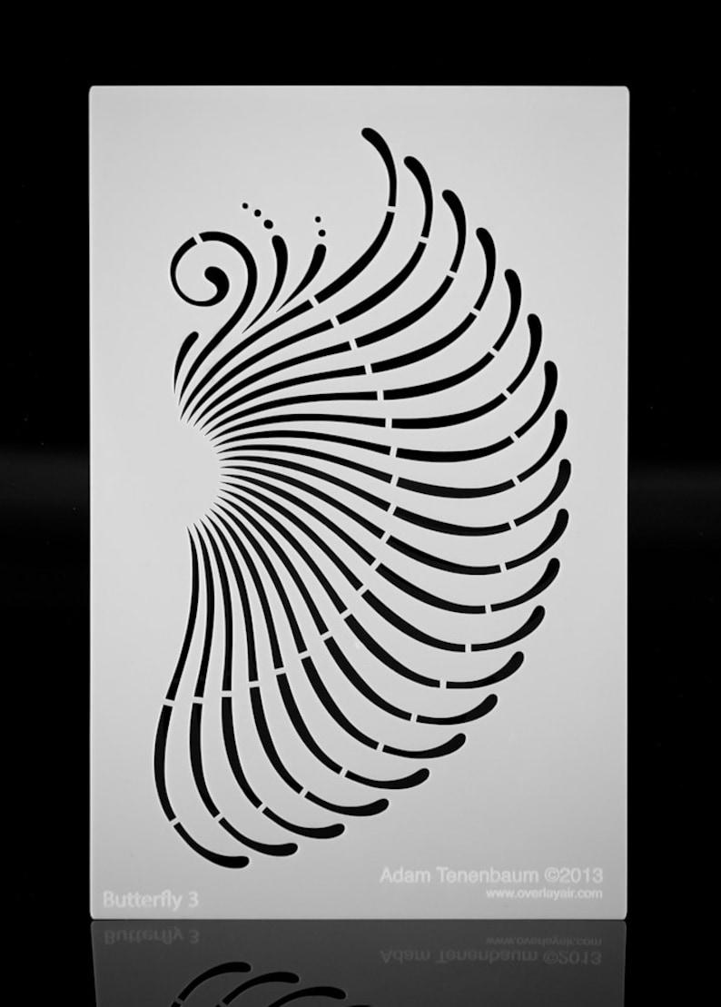 8e90e33fd Butterfly Mandala Wing. Wall / Art / Craft / Painting /   Etsy