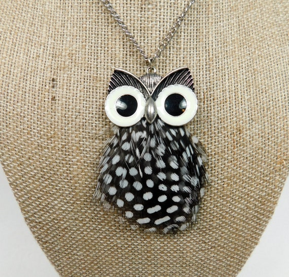 Fashion Retro Owl With Big Eye Pendant Necklace Sweater long Chain Great Gift
