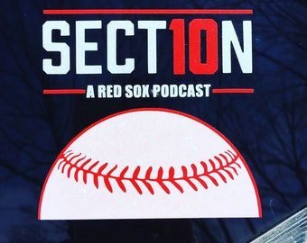 Article 10 Red Sox Podcast Logo sticker