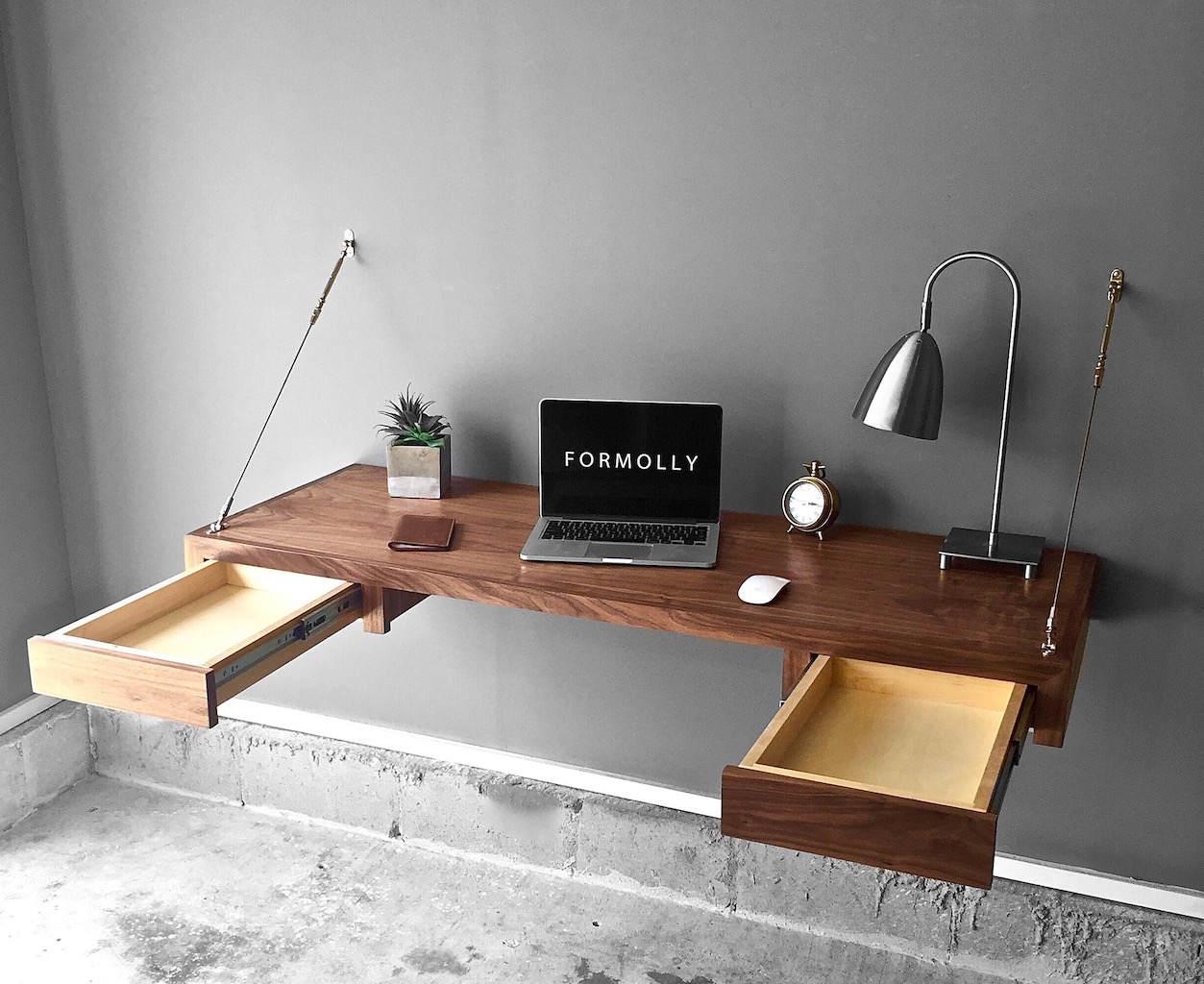 Image result for floating desk