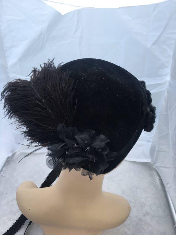 1940' - 1950's bo chapeaus hat, fascinator hat,,v… - image 7