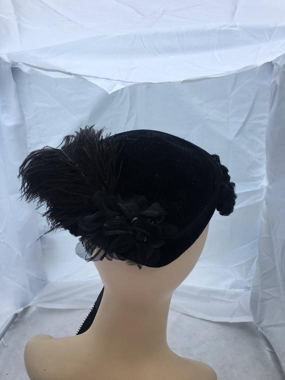 1940' - 1950's bo chapeaus hat, fascinator hat,,v… - image 8