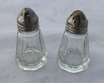 1950's salt and pepper shakers