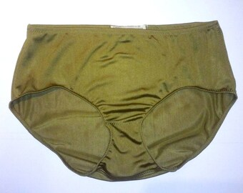 53b47d080a2 Solid Silk Jersey Granny Panties - Choice of Colors for Full Bottom 100%  Silk Underwear