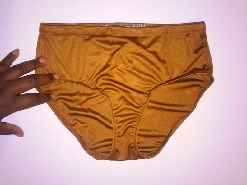 92a5c85b7bb 3-Pack Skin Tone Match Silk Granny Panties 100% Pure Silk