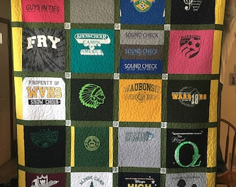 Made to Order, Custom T-shirt Quilt