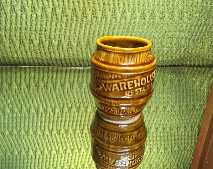 FREE SHIPPING! Handmade ceramic retro TIKI mug