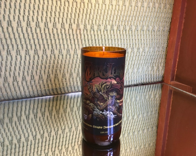 FREE SHIPPING! Dark Lord!!!!! Three Floyds Brewery DLD 2009 Soy Indian Sandalwood Candle