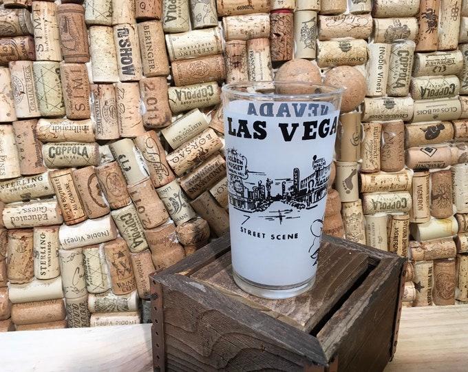 FREE SHIPPING! Vintage Las Vegas Souvenir Ceramic Mug