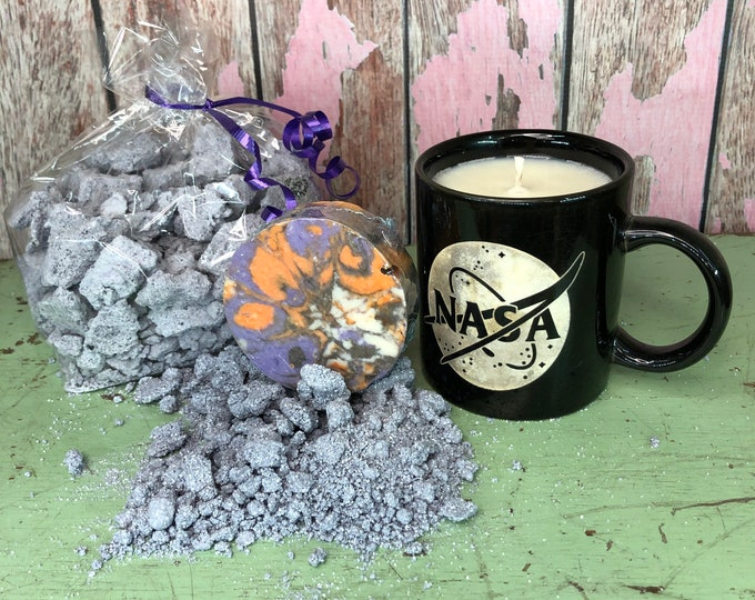 Space Lovers Gift Set, Soap, Candle, Space Dust