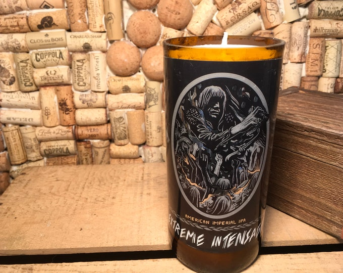 Solemn Oath Brewery Extreme Intensage bottle, Soy Leather Scent