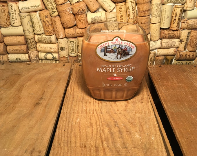 Maple Syrup bottle with a  Hazelnut Coffee Scent
