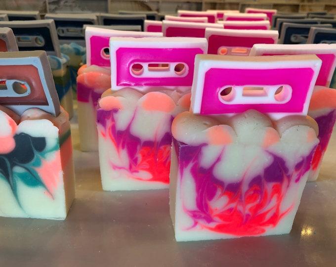 Mixtape Cassette soap, Vegan, Choose your scent