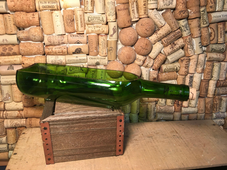 Ships Free Wedding Centerpiece Wine Bottle Planter Serving
