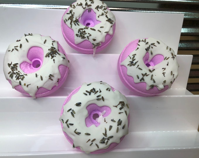 Lavender Donut Bath Bomb