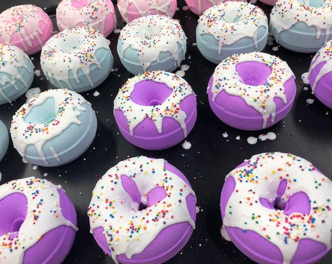 Patchouli Purple Donut Bath Bomb