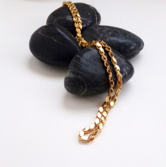 22k Yellow Gold - Vintage Jewellery - Gold Necklac