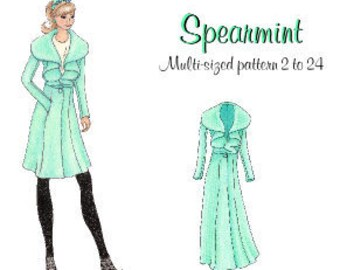 Lolita Patterns Spearmint