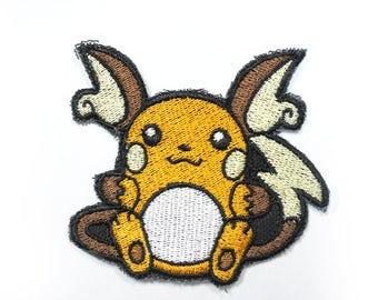 Pichu Pikachu Raichu Alolan Raichu Pokemon Perler Etsy