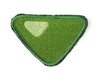 Peridot Sew On Machine Embroidered Patch Steven Universe - Cosplay Garnet, Amethyst, Pearl, Peridot, Jasper, Lapis Lazuli