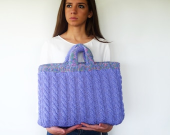 Hand knit cable knit cozy. Turquoise laptop case. Gift ideas. Laptop sleeve. Laptop cover. Laptop case. Laptop accessories. KEENbyAM